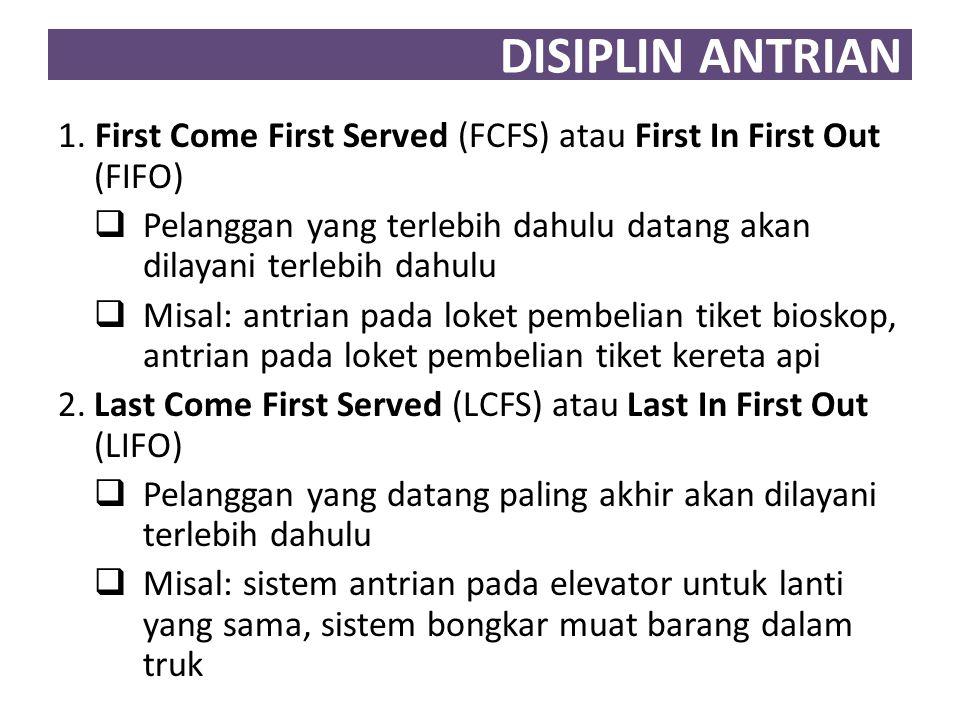 DISIPLIN ANTRIAN 3.