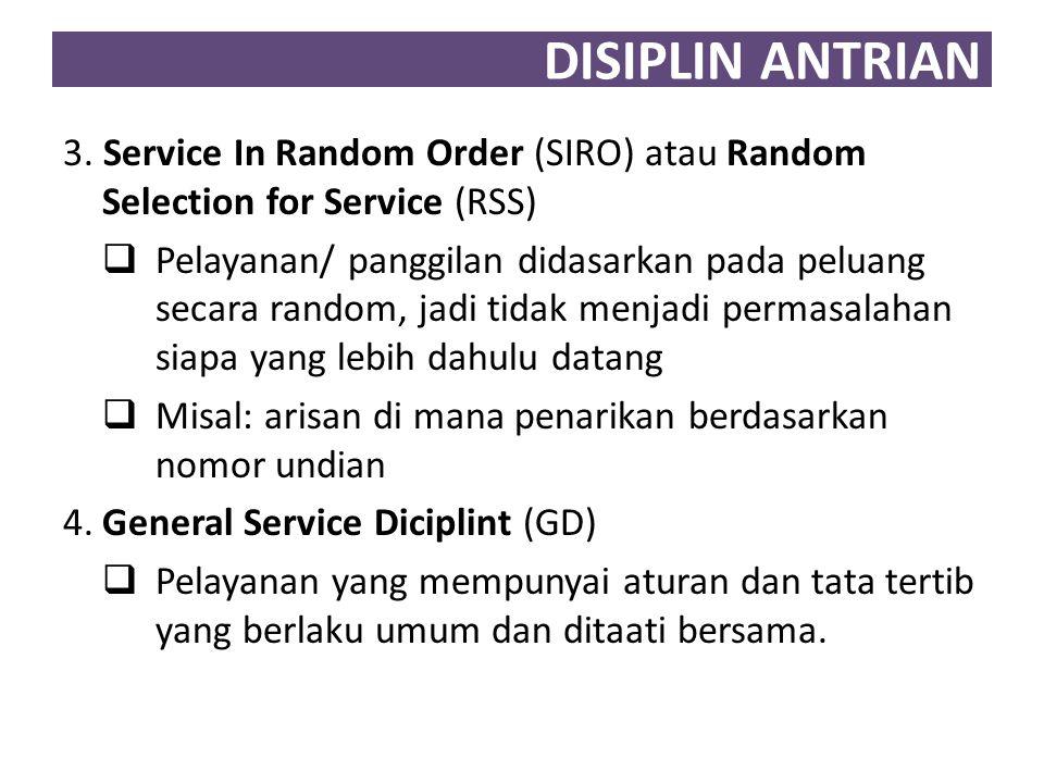 DISIPLIN ANTRIAN 5.