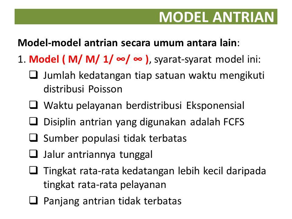 MODEL ANTRIAN 2.