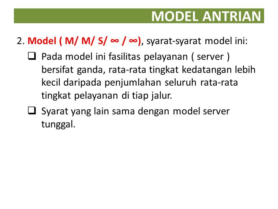 MODEL ANTRIAN 3.