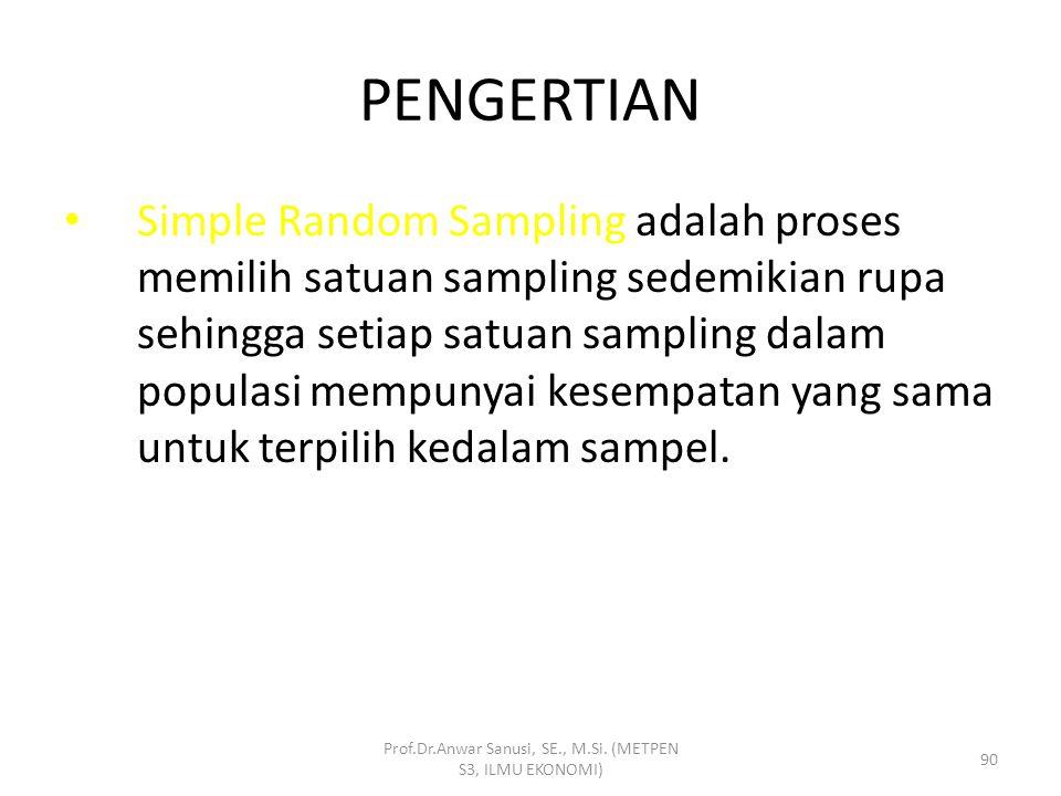 TEKNIK PENARIKAN SAMPEL 1.RANDOM  SIMPLE R.SAMPLING  SYSTEMATIC R.SAMPLING  STRATIFIED R.SAMPLING  CLUSTER R.SAMPLING 2.NON RANDOM  SNOWBALL SAMP