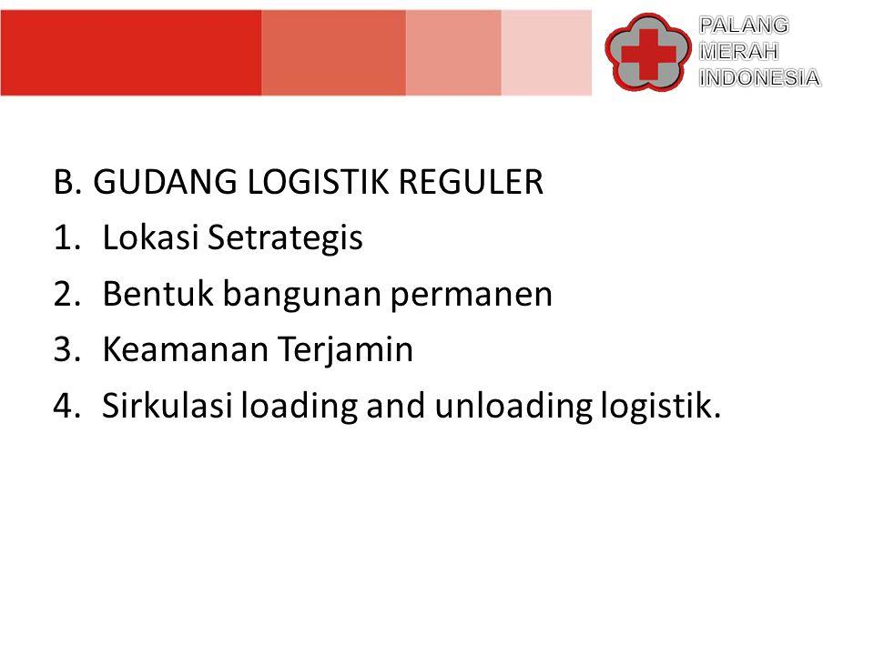 GUDANG LOGISTIK REGULIONAL 05 SEMARANG JAWA TENGAH