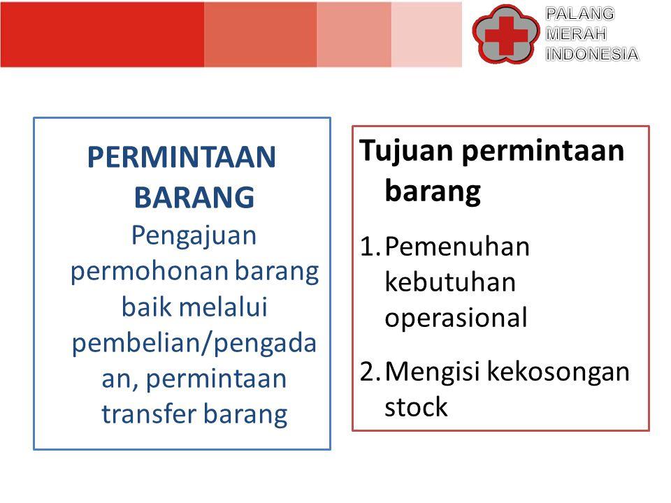 MATA RANTAI LOGISTIK Suppliers Gudang Regional GudangProvinsi Gudang Kabupaten /Kota Pengiriman Gudang Tanggap Darurat Lokasi Bencana