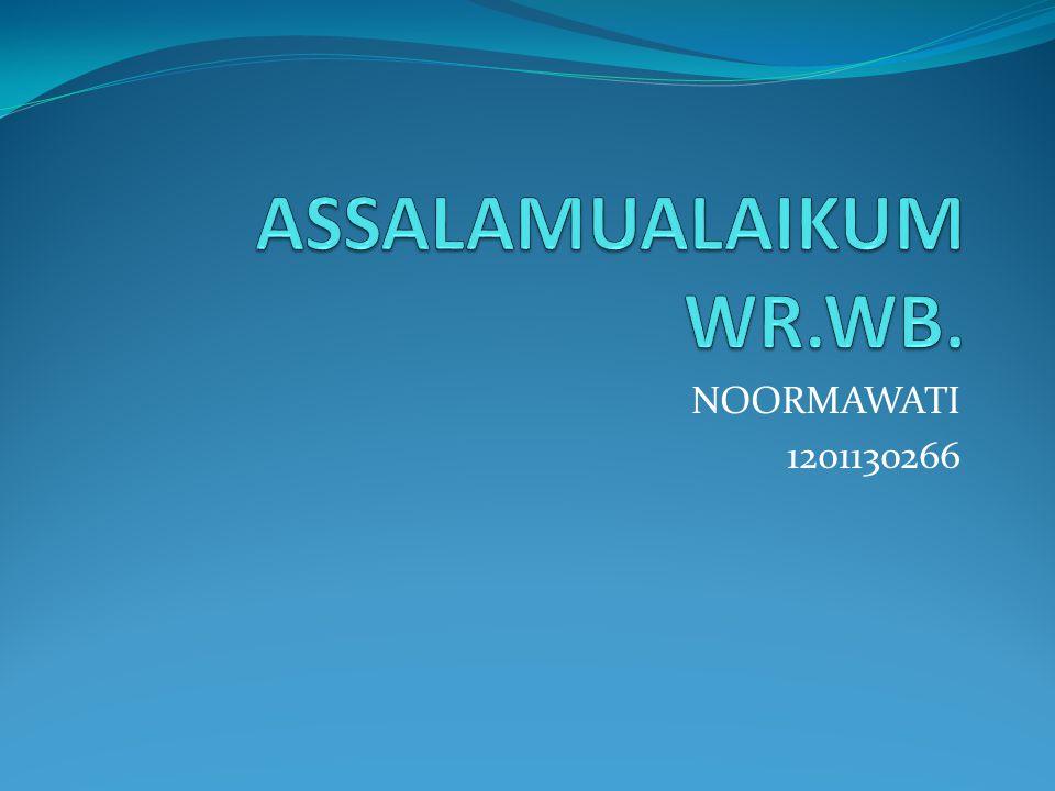 NOORMAWATI 1201130266