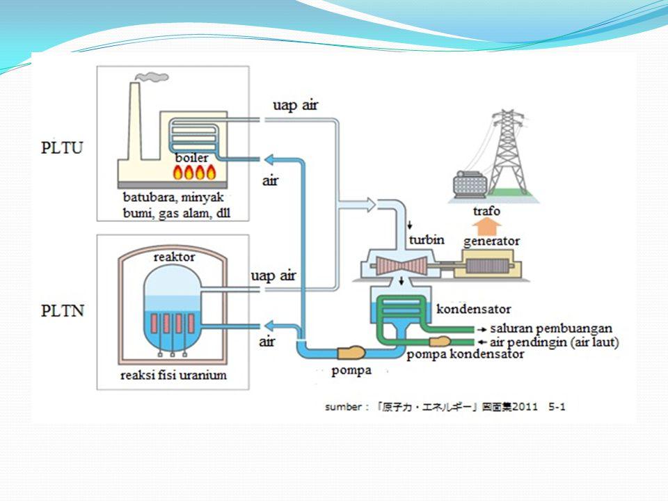 Pada Nopember 2005, di seluruh dunia terdapat 441 buah pembangkit listrik tenaga nuklir yang beroperasi di 31 negara, menghasilkan tenaga listrik sebesar lebih dari 363 trilyun watt.