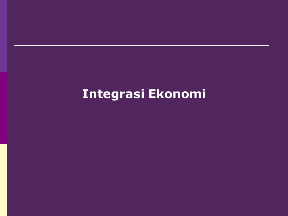 6.Tahapan Integrasi Ekonomi: 1. Free trade area 2.