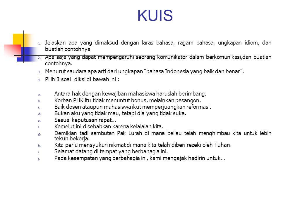 KUIS 1.