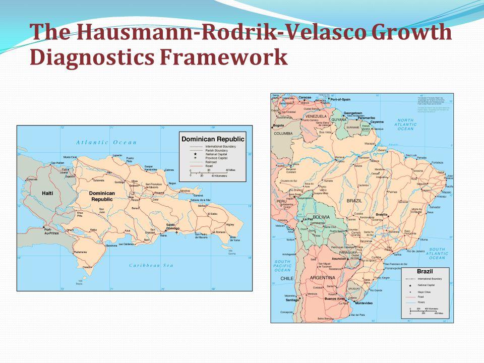 The Hausmann-Rodrik-Velasco Growth Diagnostics Framework