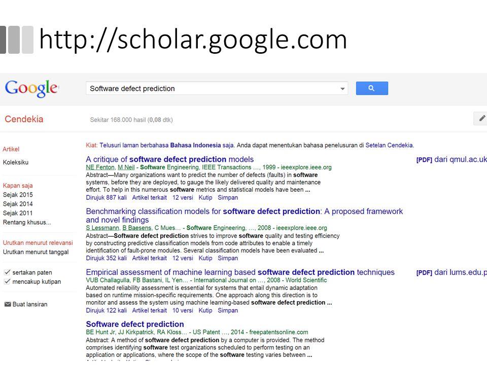 http://scholar.google.com 17