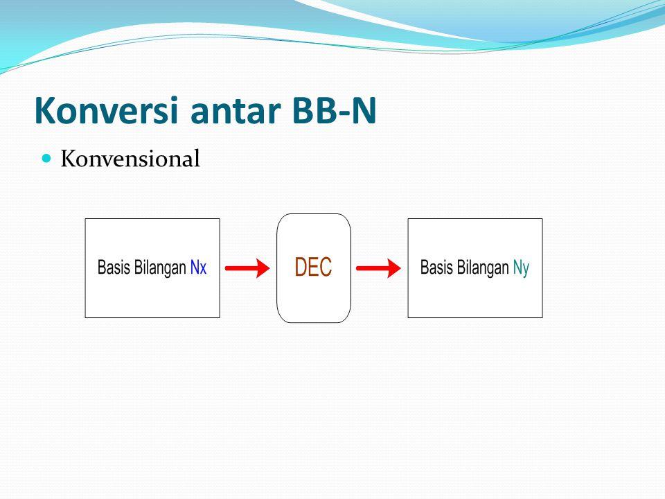 Konversi antar BB-N Konvensional