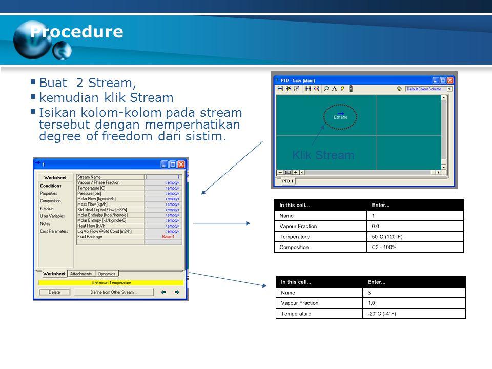 Procedure  Adding J-T Valve  Double click