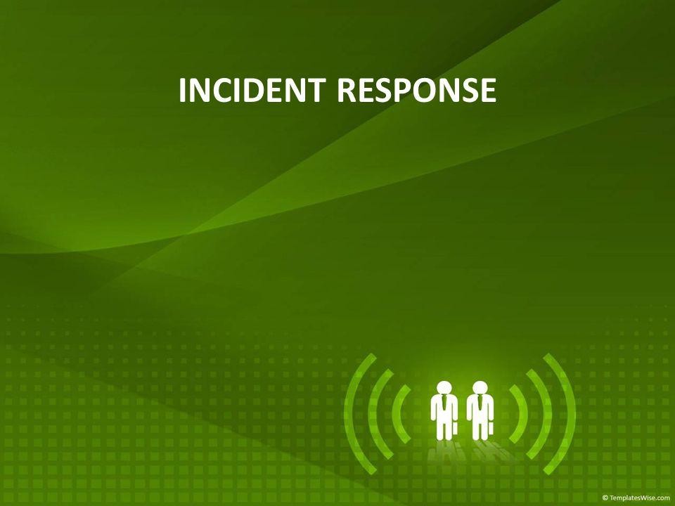 Kenapa perlu incident response.