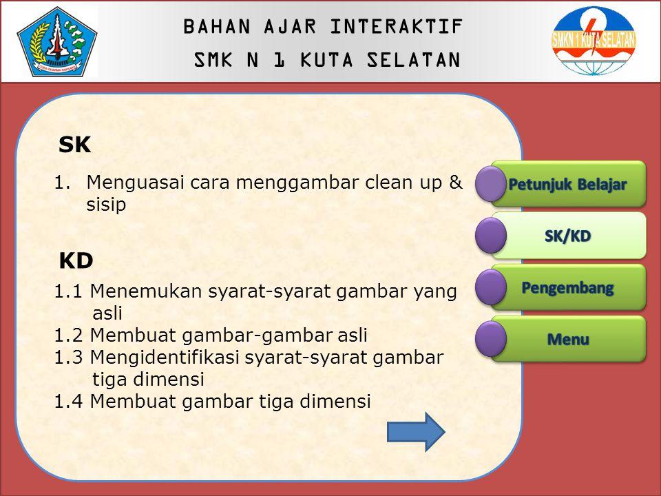 Petunjuk Belajar 1. Cermati tujuan belajar dengan seksama 2. Membaca bahan/materi yang telah diidentifikasi dalam setiap tahap belajar 3. Merencanakan