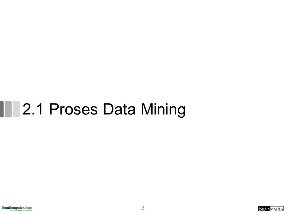 2.1 Proses Data Mining 6