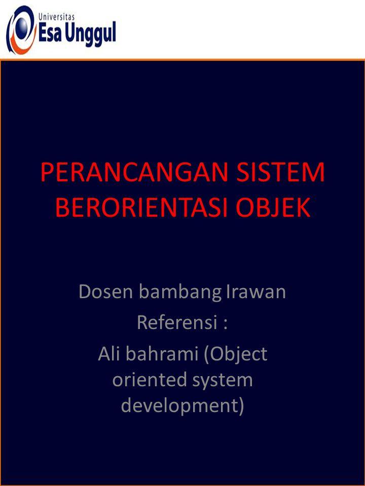 Obyek Obyek: Sebuah objek adalah instance atau contoh spesifik dari sebuah kelas.