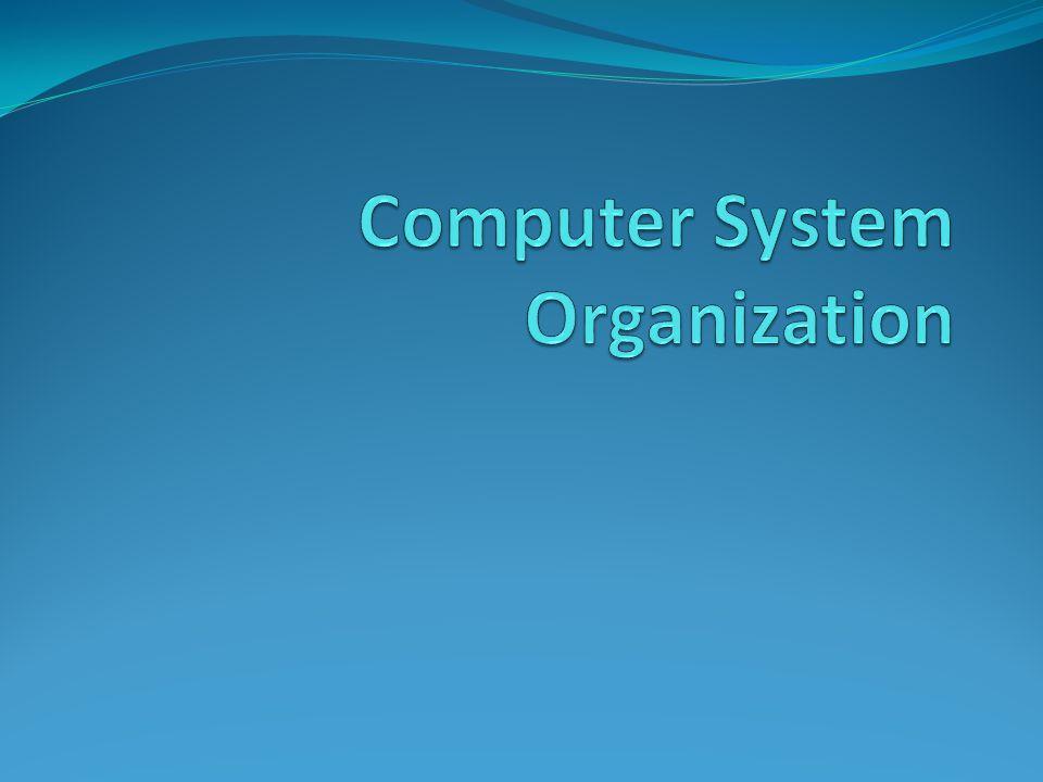 TIU Memahami konsep organisasi sistem komputer dasar Mengetahui bagian utama sistem komputer Memahami hubungan dan cara kerja dasar bagian utama sistem komputer