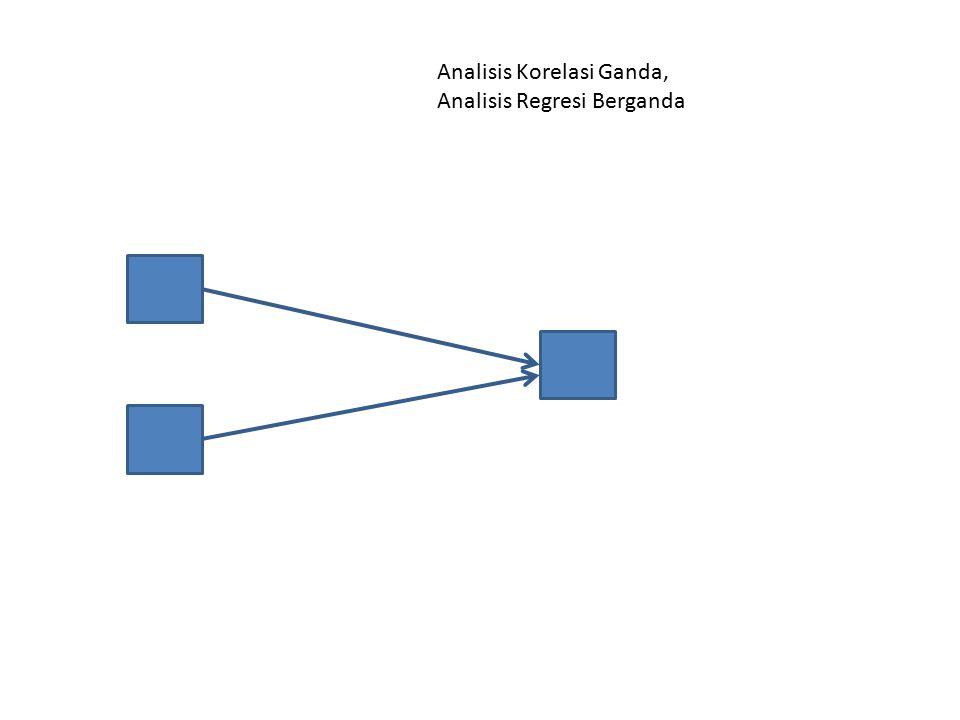 Analisis Korelasi Ganda, Analisis Regresi Berganda