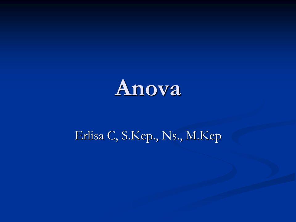 Anova Erlisa C, S.Kep., Ns., M.Kep
