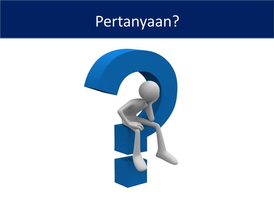 Pertanyaan?