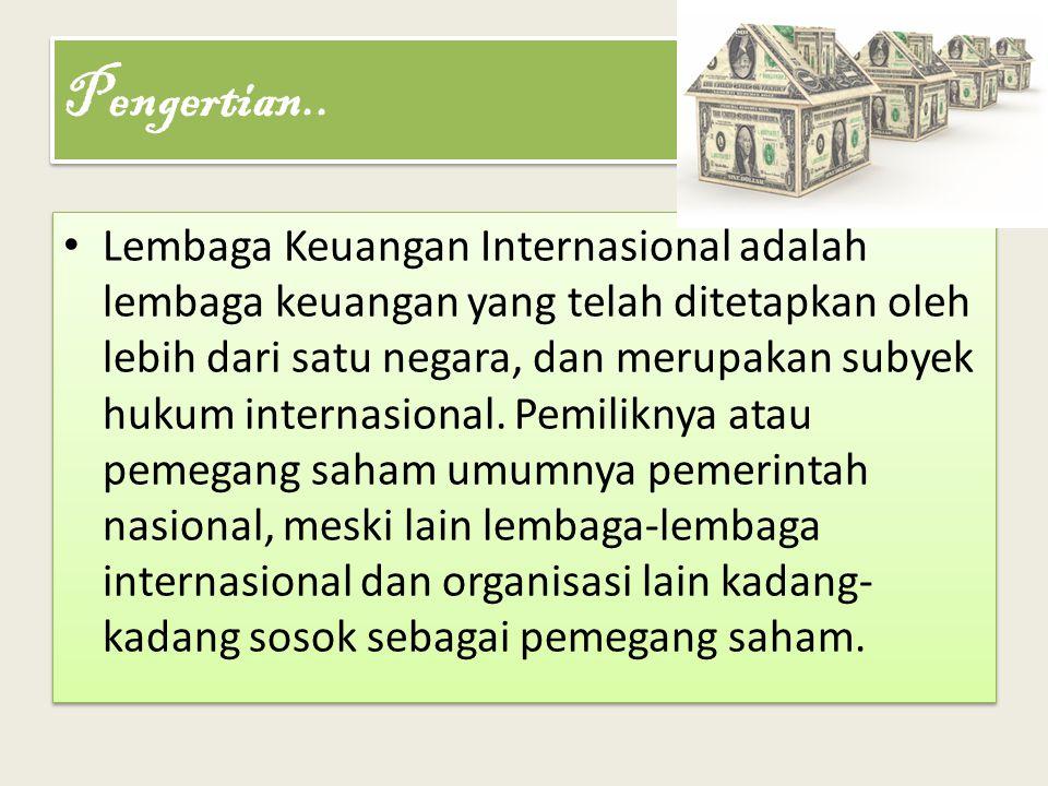Menyehatkan perekonomian dan meningkatkan ekspansi perdagangan luar negeri terutama diantara negara-negara Asia sendiri.