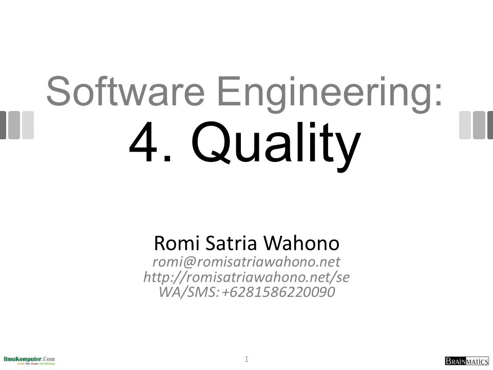 Software Engineering: 4.