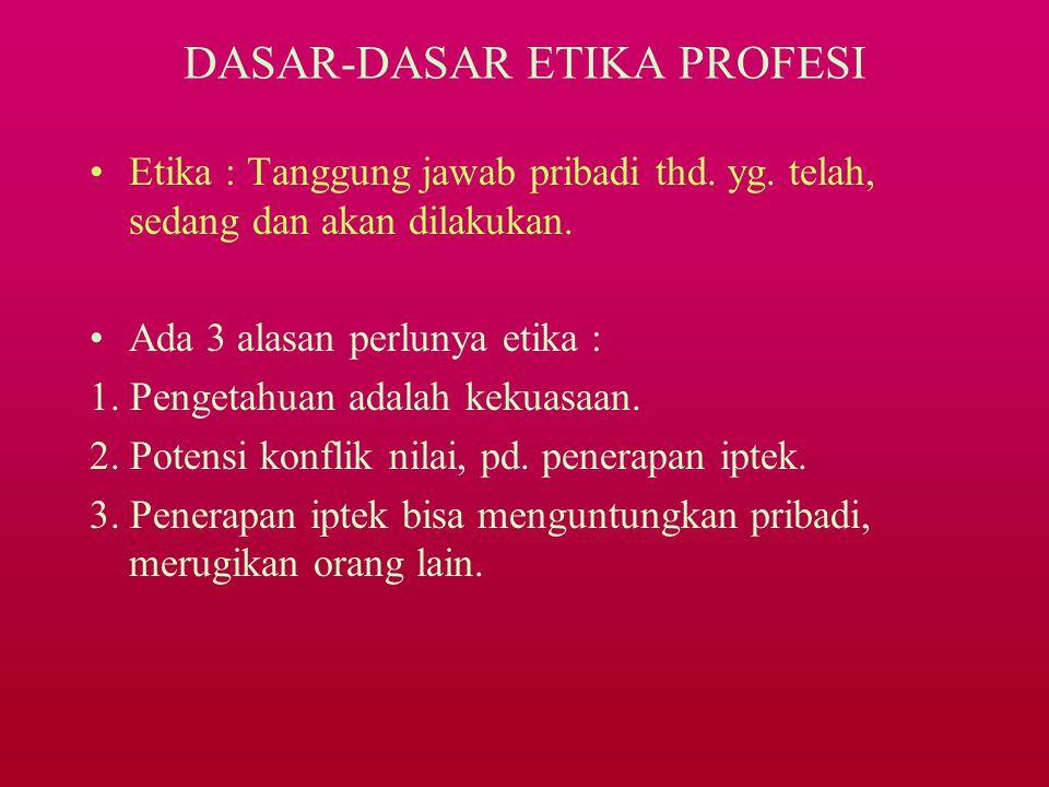 & KODE ETIK FISIOTERAPI INDONESIA (KODEFI) KEP. IFI : 100/VIII/2001