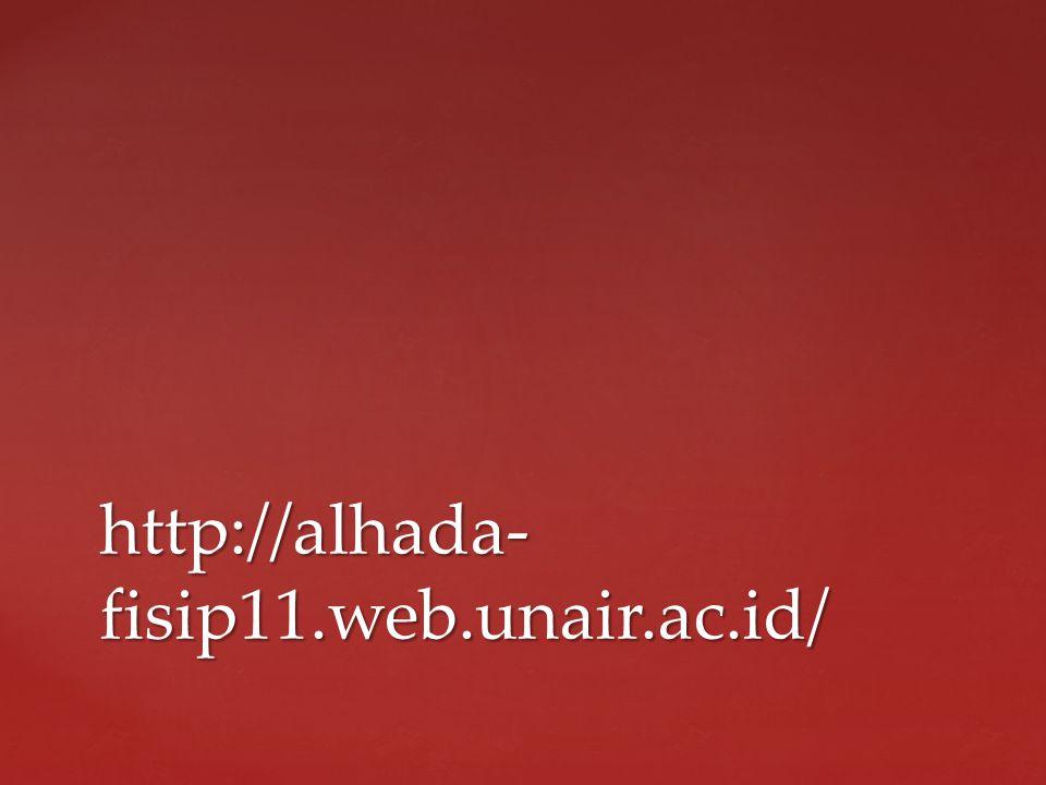 http://alhada- fisip11.web.unair.ac.id/