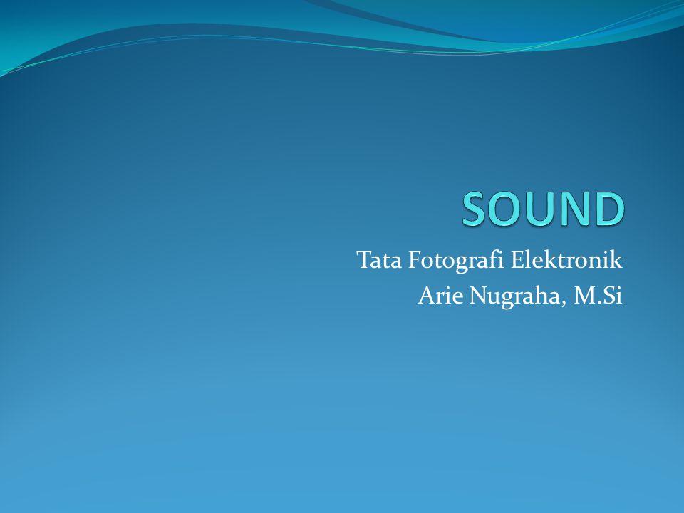 Tata Fotografi Elektronik Arie Nugraha, M.Si