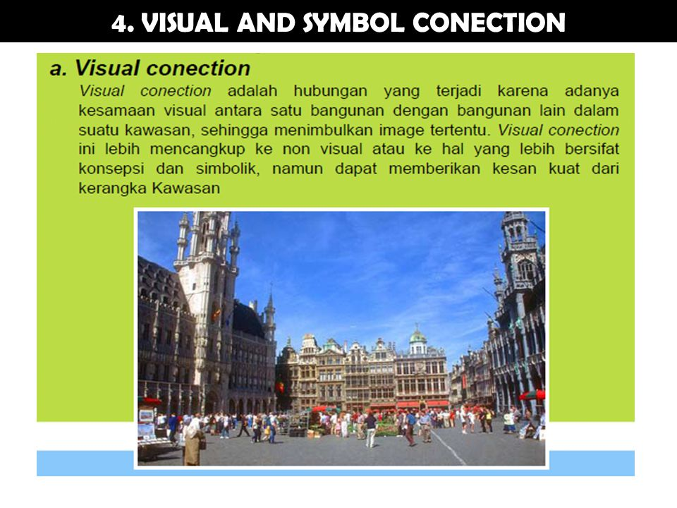 4. VISUAL AND SYMBOL CONECTION