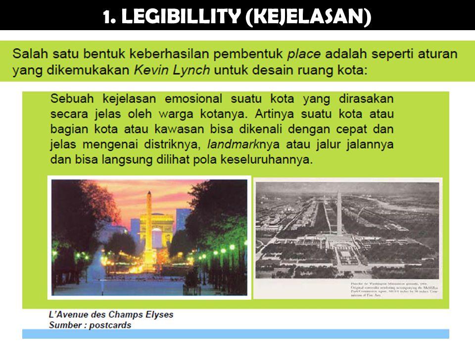 1. LEGIBILLITY (KEJELASAN)