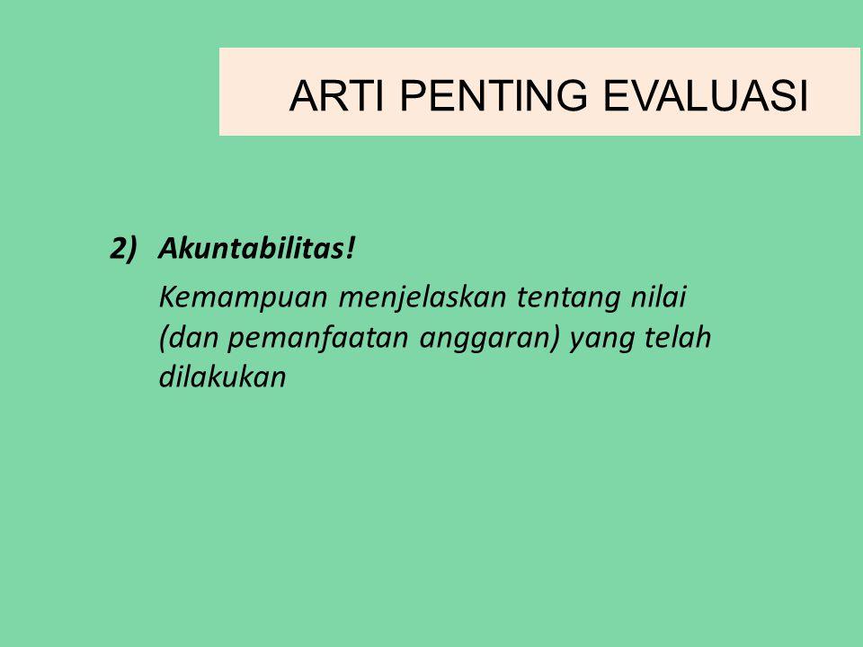 2)Akuntabilitas.