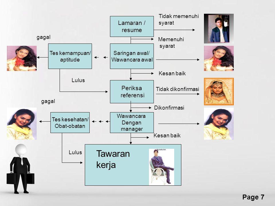 Free Powerpoint Templates Page 18 Evaluasi Kinerja Karyawan Memberikan Umpan Balik.
