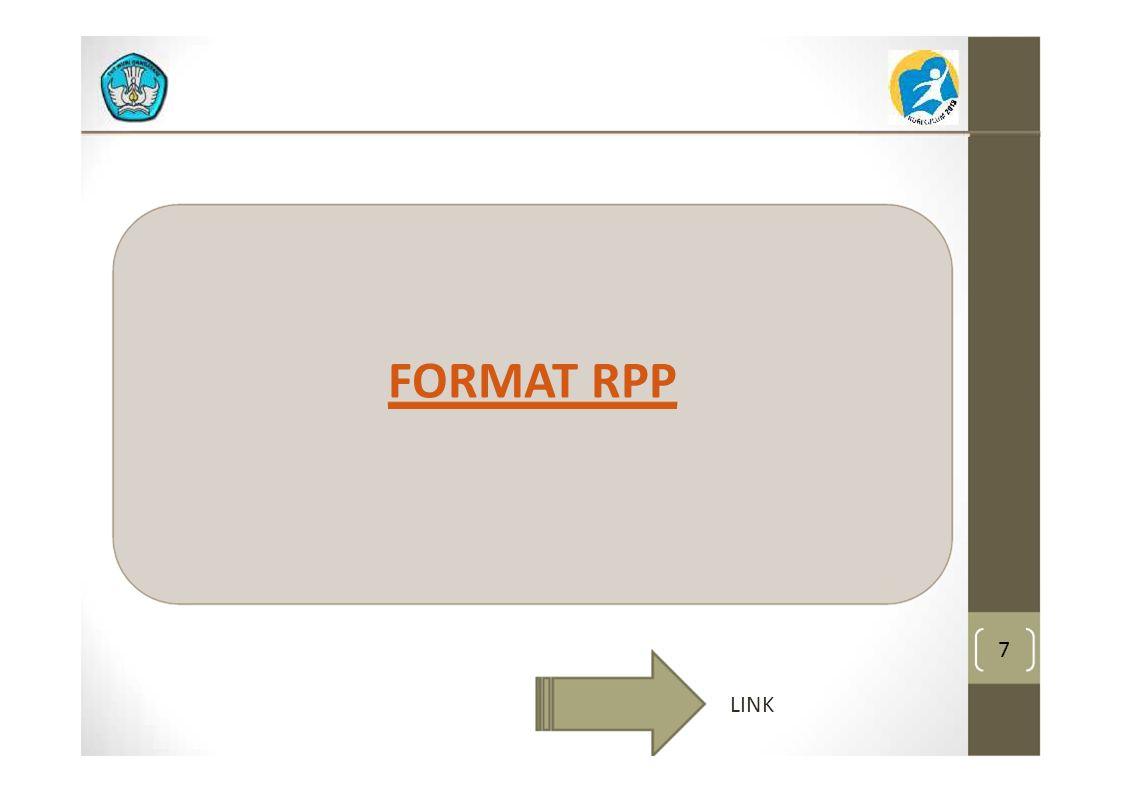 7 FORMAT RPP LINK