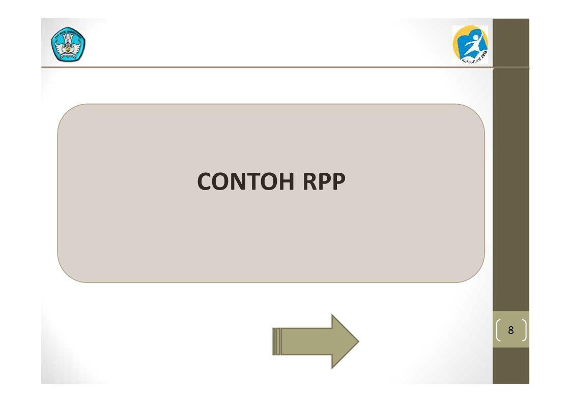 8 CONTOH RPP