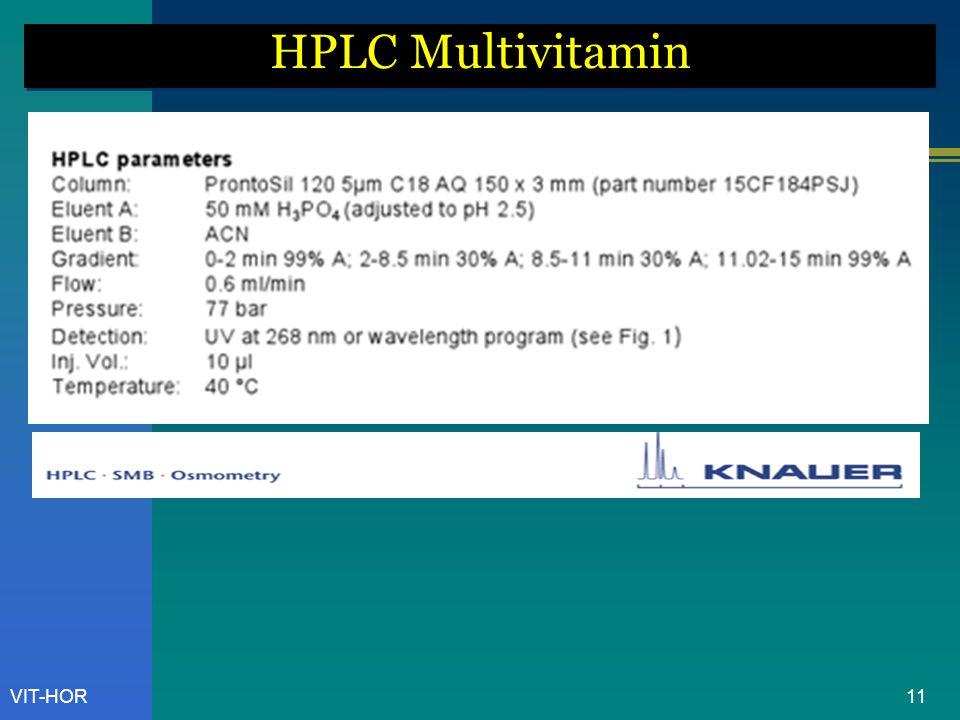 VIT-HOR HPLC Multivitamin 11