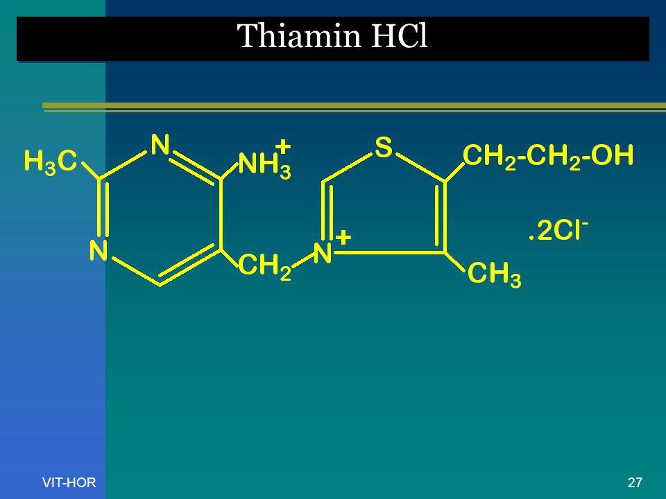VIT-HOR Thiamin HCl 27