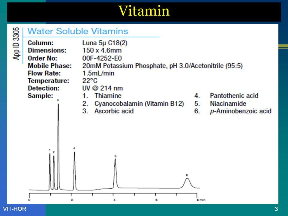 VIT-HOR Vitamin C = Ascorbic Acid 14