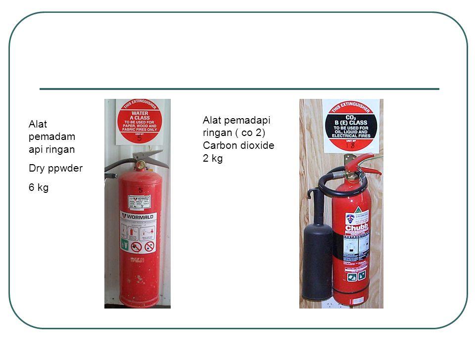 Alat pemadam api ringan Dry ppwder 6 kg Alat pemadapi ringan ( co 2) Carbon dioxide 2 kg