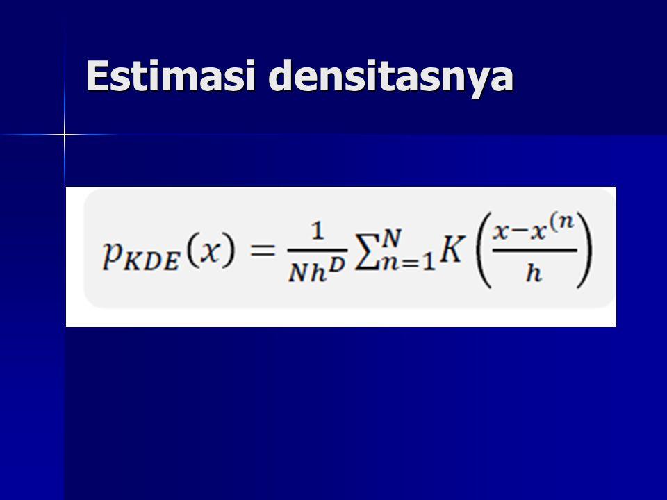 Estimasi densitasnya