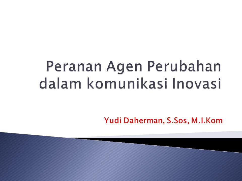 Yudi Daherman, S.Sos, M.I.Kom