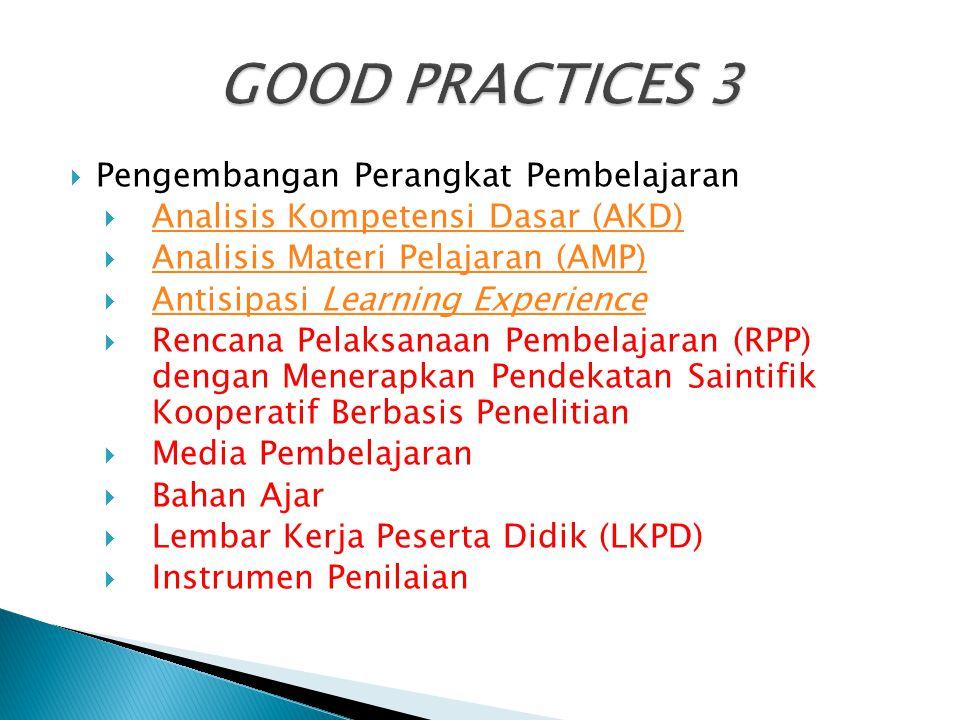  Pengembangan Perangkat Pembelajaran  Analisis Kompetensi Dasar (AKD) Analisis Kompetensi Dasar (AKD)  Analisis Materi Pelajaran (AMP) Analisis Mat