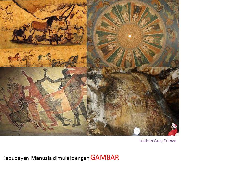 Kebudayan Manusia dimulai dengan GAMBAR Lukisan Gua, Crimea
