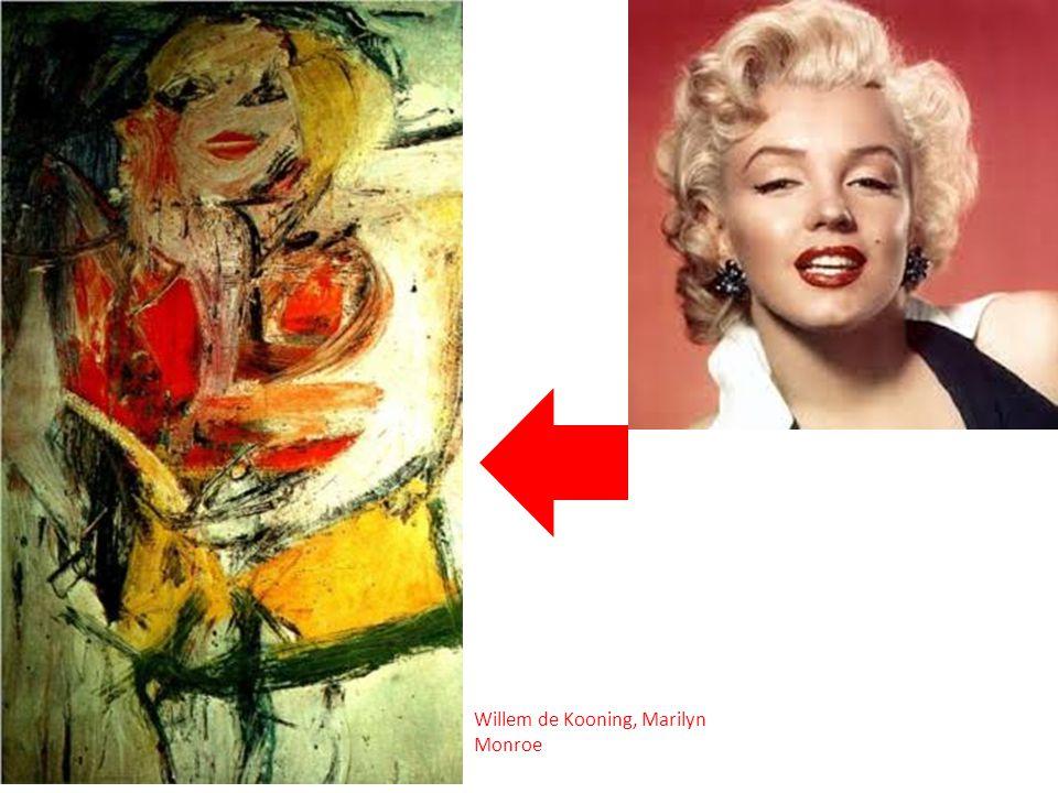 Willem de Kooning, Marilyn Monroe