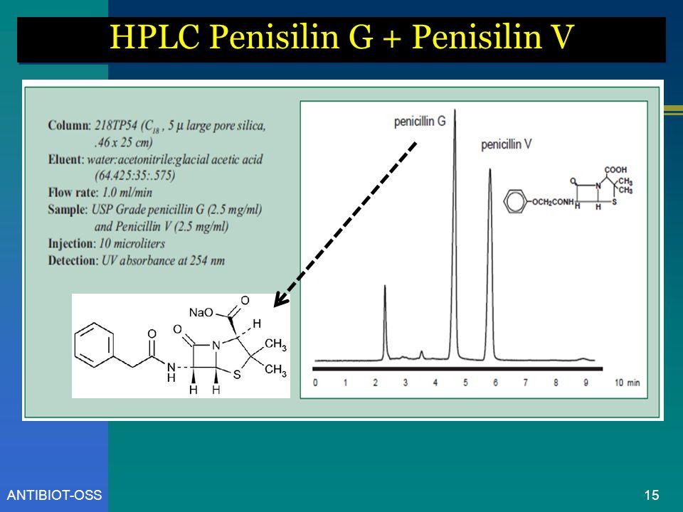 ANTIBIOT-OSS HPLC Penisilin G + Penisilin V 15