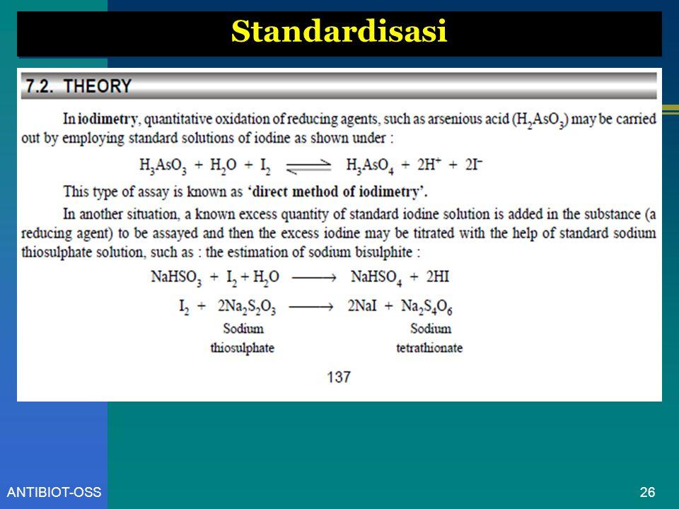 26ANTIBIOT-OSS Standardisasi