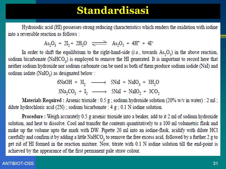 31ANTIBIOT-OSS Standardisasi