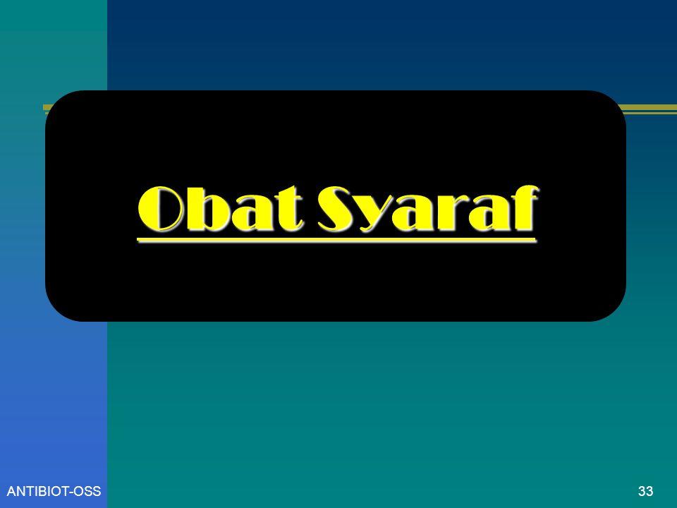 ANTIBIOT-OSS Obat Syaraf 33