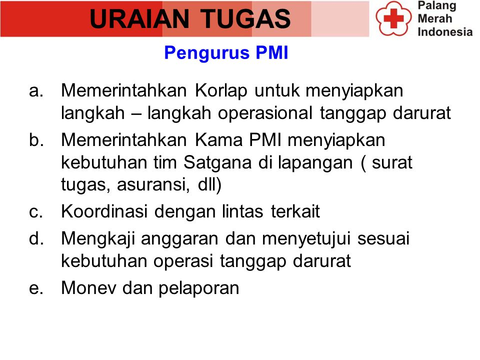 Contoh Atribut Anggota Satgana