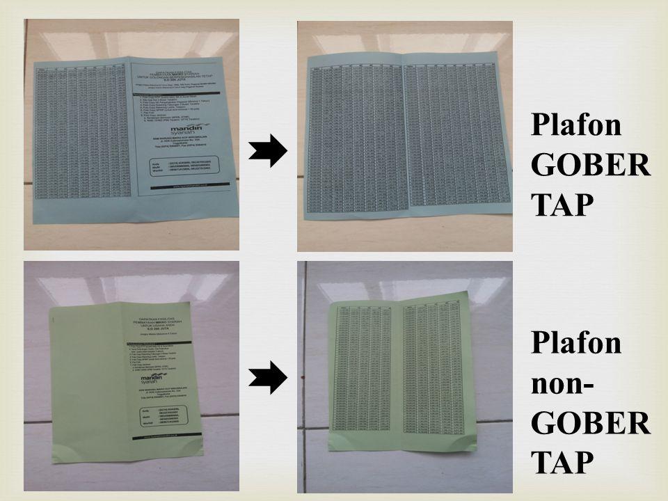 Plafon GOBER TAP Plafon non- GOBER TAP
