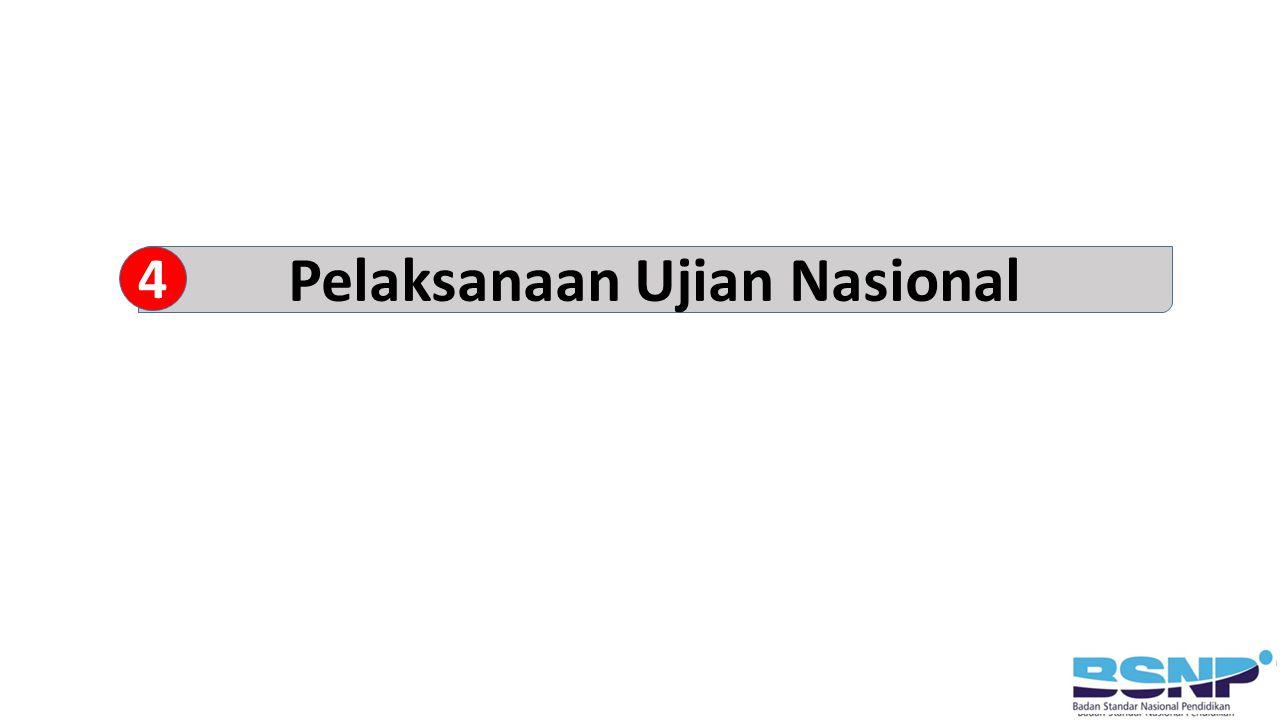 Pelaksanaan Ujian Nasional 4